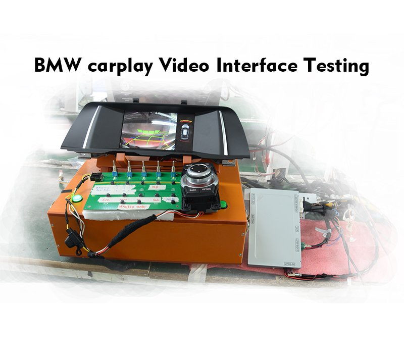 2013-2017 BMW NBT System car Video Interface with Carplay