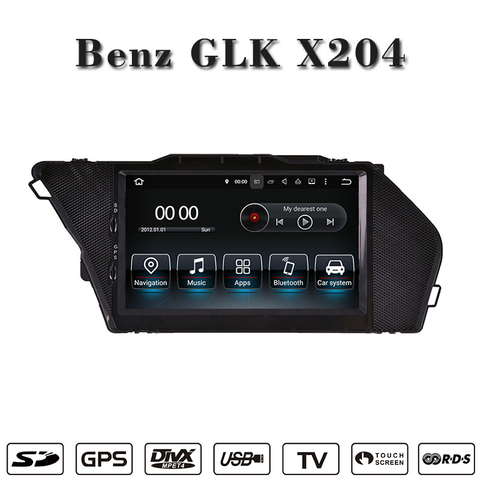 auto stereo for GLK android gps player OBD,DAB 3G Interne