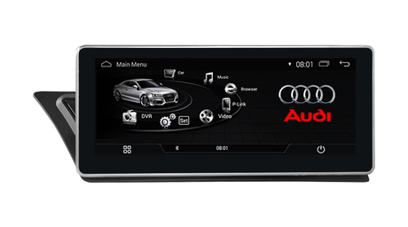 "10.25""Blu-ray Anti-Glare Audi A4 A5 MMI 2G 3G Multimedia Gps Navigatior Carplay Car Dvd Players 4g wifi"