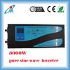 13A 3000Watt power frequency pure sine wave inverter 12/24Vdc to 220Vac moveable power inverter low frequency power supply