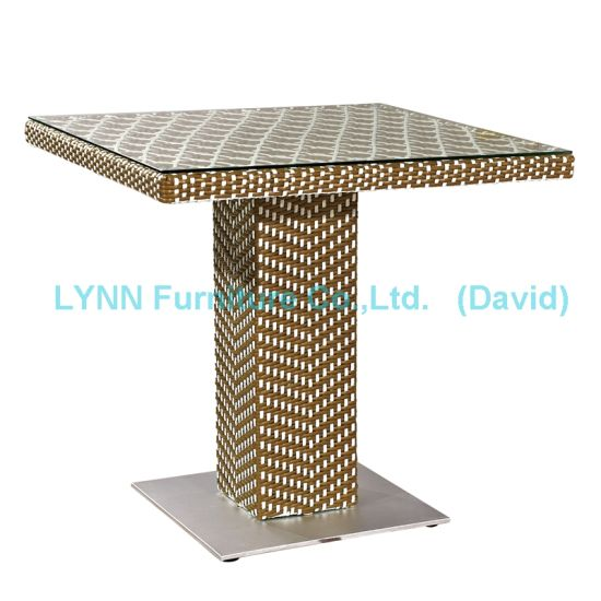 Mixed Color Rattan Table Wicker Furniture