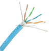 Factory Price 4pairs 24AWG FTP CAT5E NETWORK CABLE with CE ROHS UL Standard