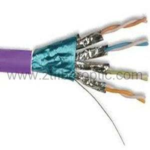 Copper Conductor CAT6 SSTP Shielded Network Cable