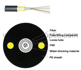 GYFXY Unitube Non-Metallic Non-Armored Fiber Optic Cable (GYFXY)