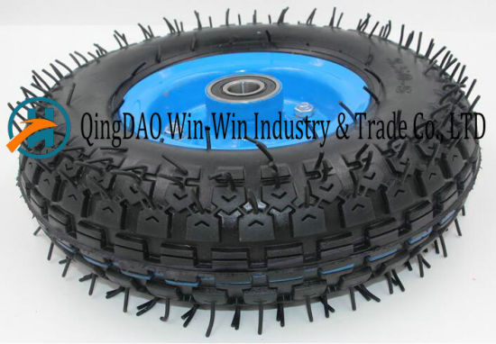 3.50-5 Rubber Wheel with Steel /Plastic Rim