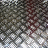 Aluminium Checkered Sheet