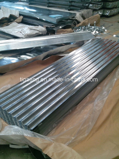 SGCC Spangle Galvanized Corrugated Metal Roofing Sheet Price Per Sheet