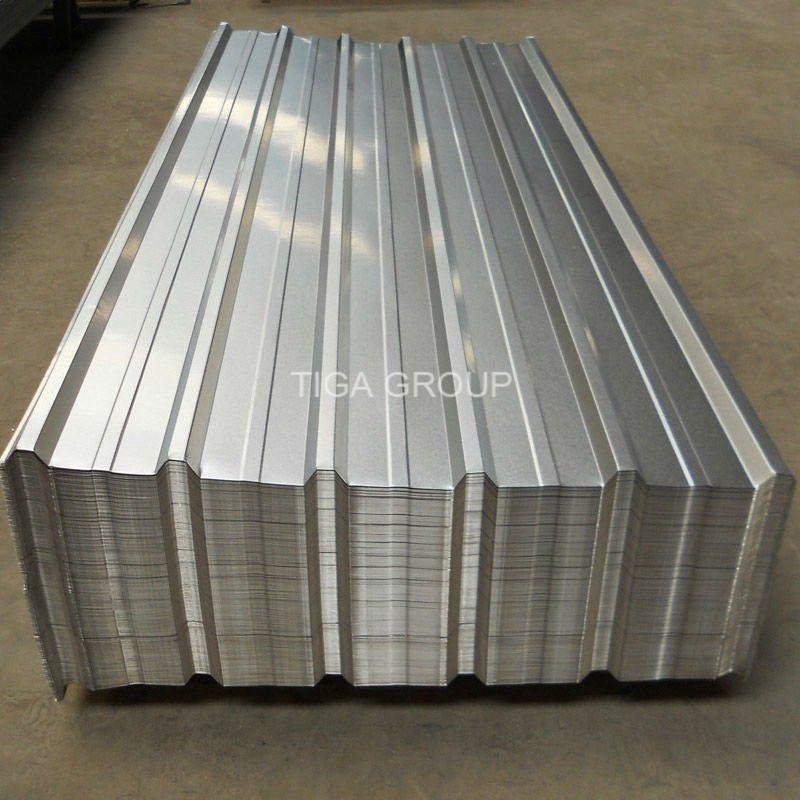 Trapezoidal Galvalume Roof Sheets T Profile Aluzinc Metal
