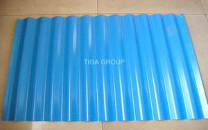 Blue Color Coated PPGI Roofing Sheets/Corrugated Metal Plate/Color Metal Roof