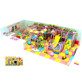 Candy Theme Mini Indoor Playground & Party Palace для детей