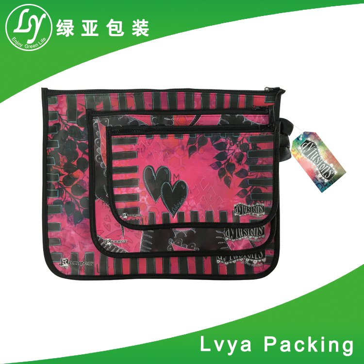As customer's design With lamination outside or inside small non woven tote bag