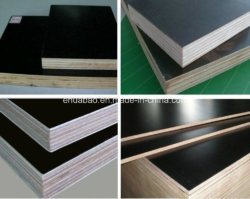 Wood Timber with Poplar Core Black Film Faced Plywood