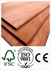 18mm Laminated Plywood with Poplar Core BB/CC Grade