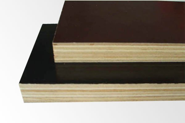 Construction Film Faced Plywood with Black/Brown Film for Concrete