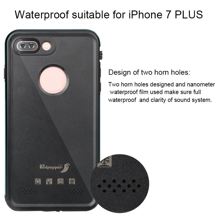 "Xlf Redpepper Case for 4.7"" iPhone 7 5.5inch 7plus Waterproof Dirtproof Shockproof"