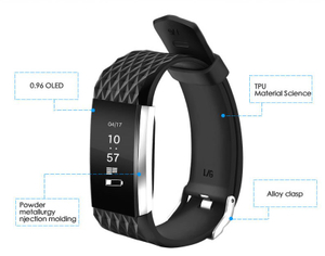 G4 Smart Bracelet IP67 Waterproof Sport Bracelet Multi-Function Wristband