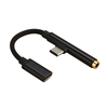 Type-C To 3.5mm Audio Adapter Cable for Mobile Phone 2in1 Sync Charging Audio Adapter Cable