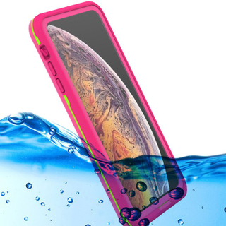 Case with Built-in Screen Protector for iPhone IP68 Back Cover Underwater Waterproof Cell Phone Case for iPhone XR