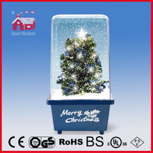 (16029L) Top Star Decorated LED Lights Snowing Christmas Decoration