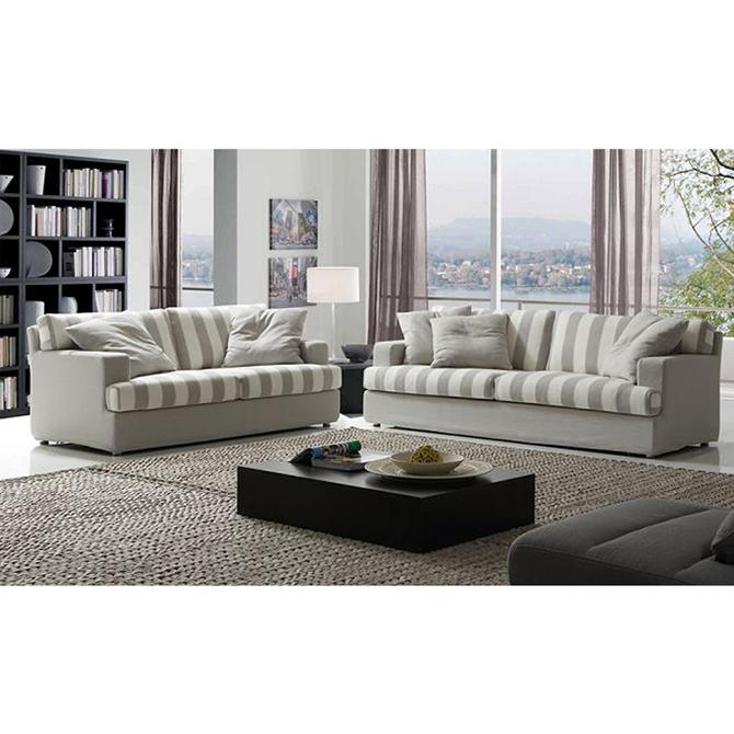 Striped Fabric Sofa Sofa Fabric Upholstery Curtain