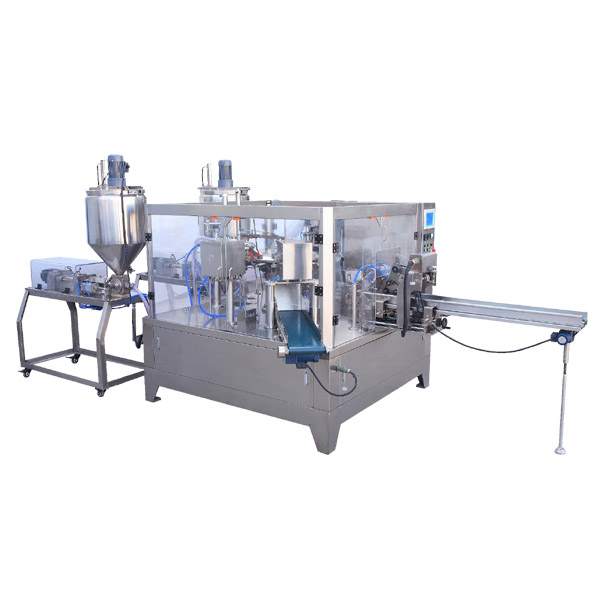 liquid premade pouch packing machine