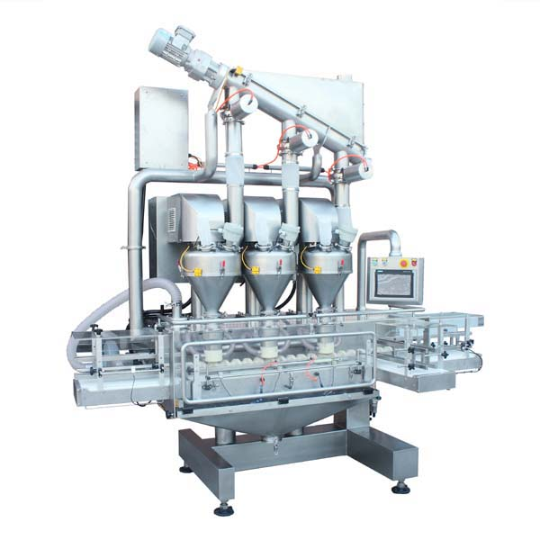 high speed small bottle powder filling machine