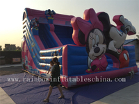 RB6073(9x6m) Inflatable Disney Mickey Theme Dry Slide Hot sale
