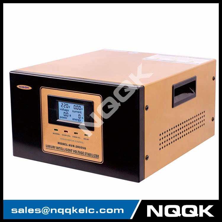 Avr 2kva Servo Type 1phase Series Voltage Regulator