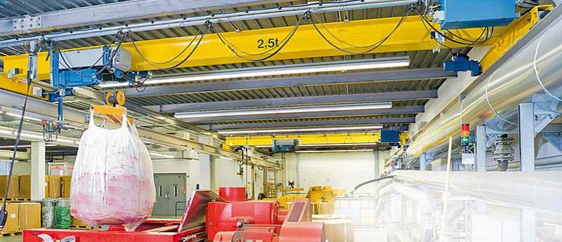 Ebon кран для петрохимической индустрии