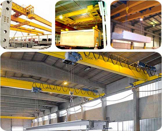 Bridge Cranes For Building Material Industry