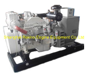 Cummins 100KW 125KVA 50HZ marine generator genset set (CCFJ100JW /6CT8.3-GM115)
