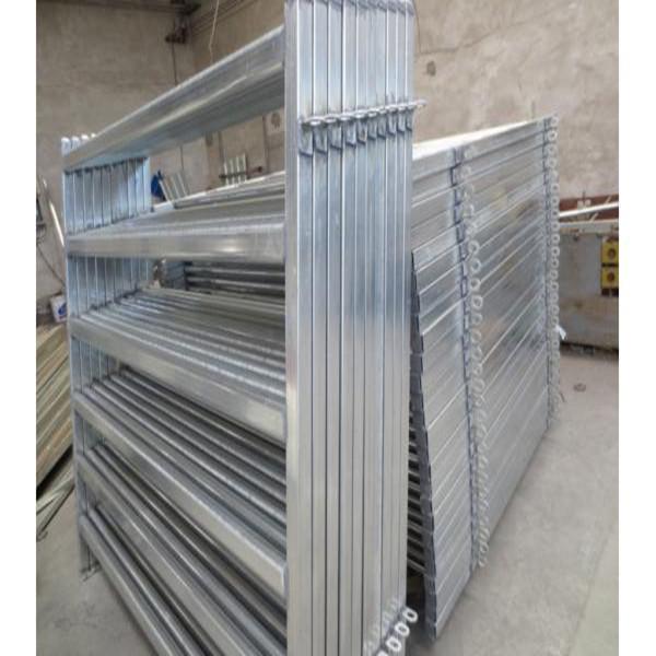 Galvanized Pipe Cattle Fence Panel Metal Tube Livestock