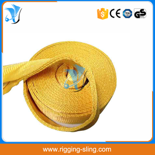 15 ton High quality polyester snatch strap