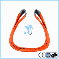10000kg Polyester Webbing Slings Eye-Eye Type to EN1491-1