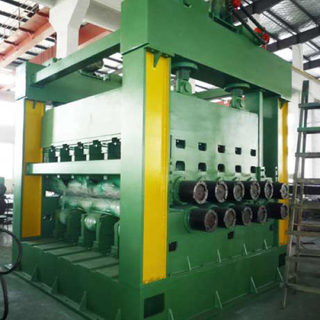 metal cut to length machine