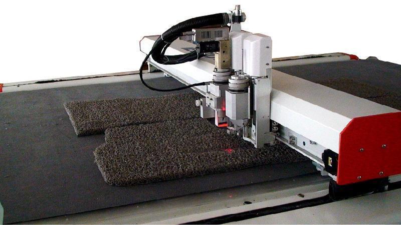 Oscillating Knife Cutting Machine For Cardboard Carton Box