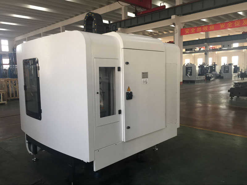 XK7132A 4 Axis Small Vertical CNC Milling Machine Center