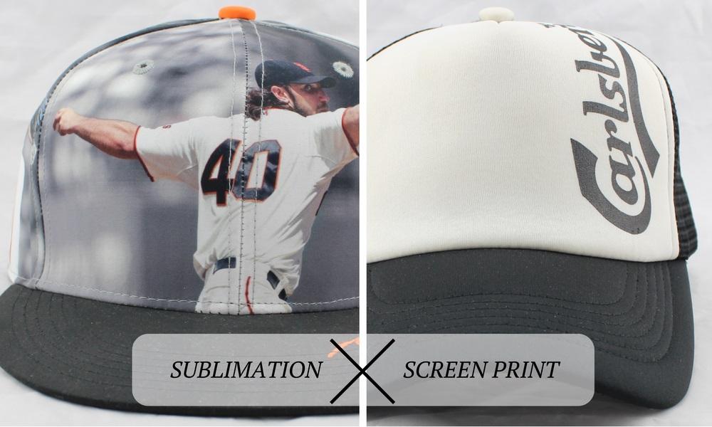 升华和屏幕印刷品比较
