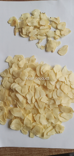 2021 Top Quality dried Garlic Flakes Dehydrated Garlic Slices