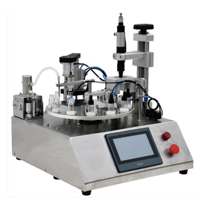 Semi-Automatic Desktop Ceramic Pump Filling Capping Machine