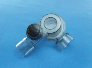 Non-rebreathing valve with peep-valve diverter