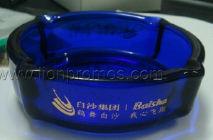 Cigarette Promotional Gift Glass Ash Tray
