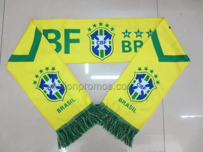 Beer Promotion,FIFA World Cup Footbal Game Fans Bravo Acrylic Scarf
