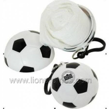 Outdoor Travel Sports Events Promotional Gift Disposable Ball Shape Rain Poncho