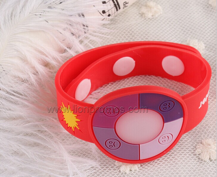 Lady Promotional Gift LCD UV Wristband