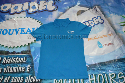 Vega Logo Cotton Polo Shirt