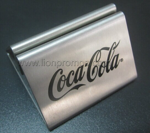 Coca Cola Restaurant,Bar Gift Stainless Steel Menu Holder