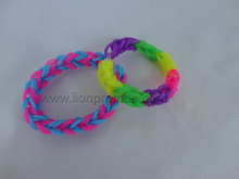 Weaving Silicone Ring Wristband