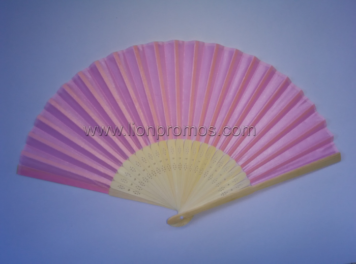 Custom Logo Marrage Wedding Gift Paper Fan