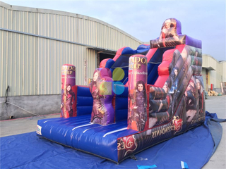 Inflatable Descendants Slide
